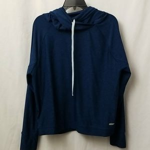 Athletic Works Womens Hoody Size Large Green Blue